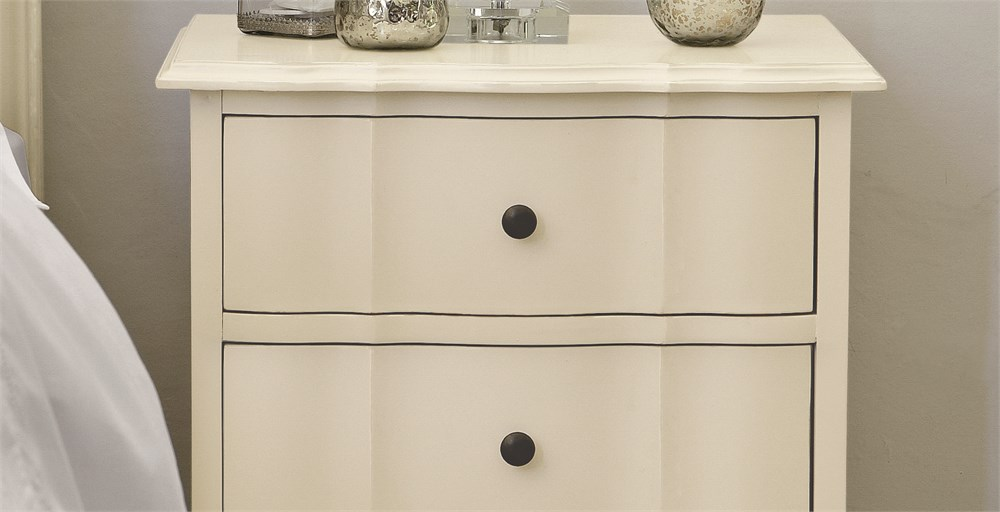 Amelia 3 Drawer Bedside
